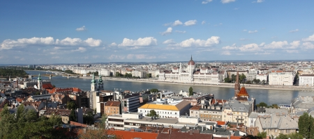 Panorama of Budapest photo