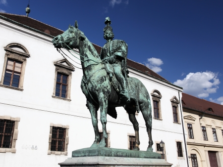 Andras Hadik horse statue in Budapest, Hungary Stock Photo - 18094687