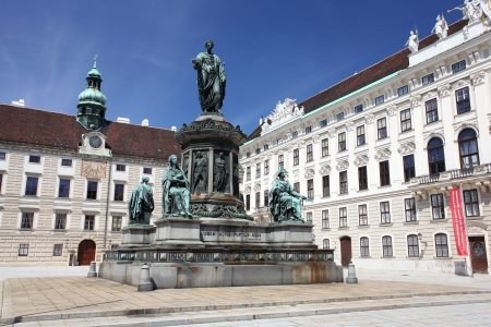 Monument in front of Imperial Palace, Vienna  Stock Photo - 18080343