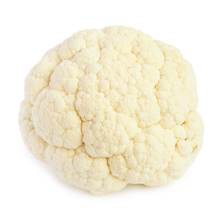 Cauliflower isolated on white background Stock Photo - 18133456