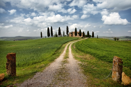 Beautiful landscape of Tuscany, Italy Stock Photo - 19599506