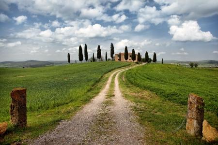 Beautiful landscape of Tuscany, Italy Stock Photo - 19599506