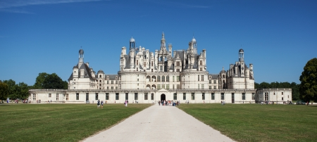 Chambord castle in Loire valley, France