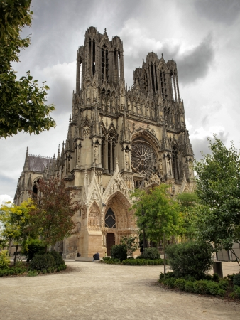 reims: Cathedral of Reims in France