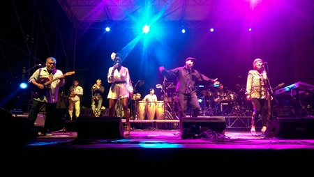 incognito: Incognito at concert in Tarvisio on August 3rd 2014