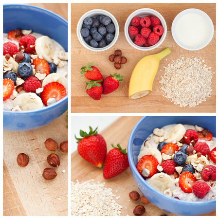 granula: delicious oatmeal with fresh fruit