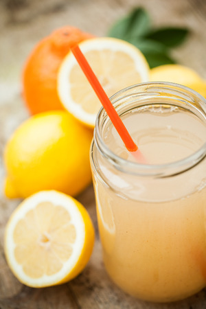 cold remedy: Healthy drink with lemon, cinnamon, ginger and honey to prevent cold