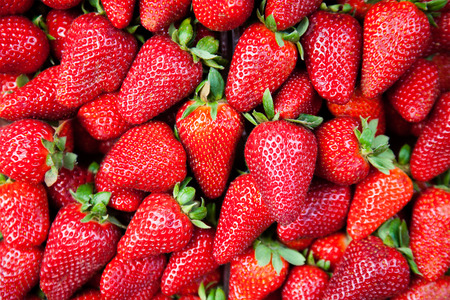 strawberies: Lots of strawberies as background or wallpaper