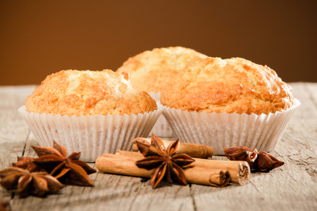 muffin: Healthy muffins made of coconut flour and banana