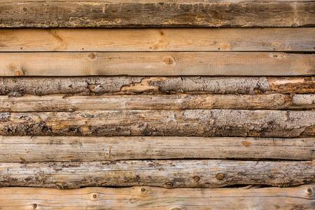 tronco: Imagen de fondo de los troncos de madera en la pared