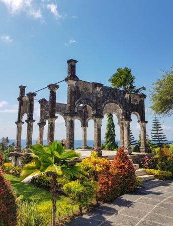 Taman Ujung Water Palace scenery in Bali,Indonesia