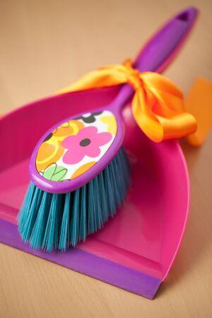 Dustpan & Brush Set as gift