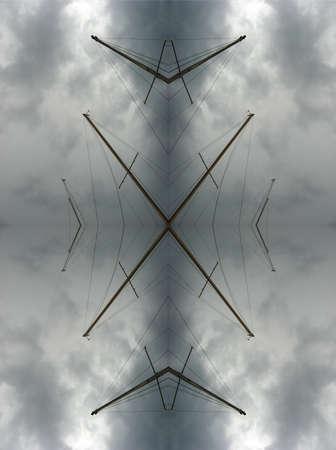 masts: Stormy masts kaleidoscope