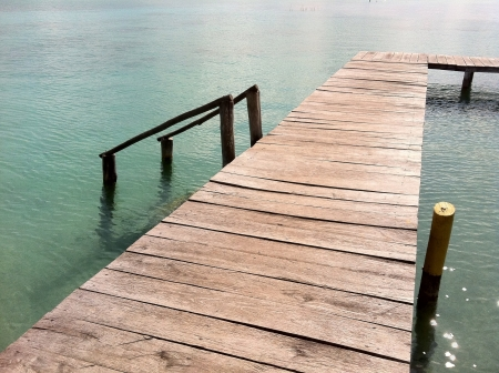 roo: Dock at Bacalar Quintana Roo