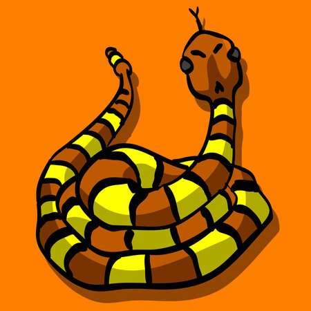 rattle snake: Its a rattle snake. Nice generic image of an unintimidating desert animal.