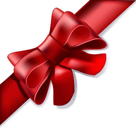 would: Un nastro rosso, come ad esempio volesse sottoporre a un dono, una decorazione, al tuo anniversario amore ...