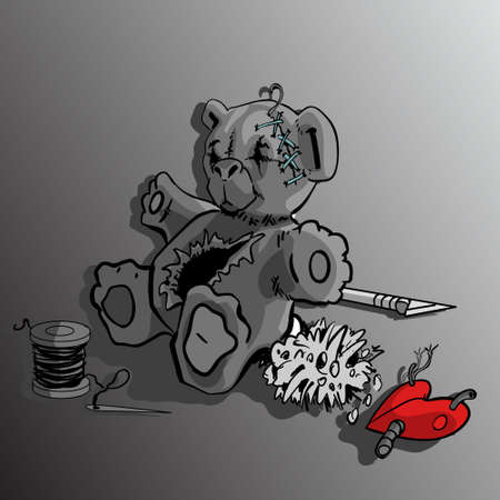 juguetes antiguos: Teddy Bear atenci�n de emergencia