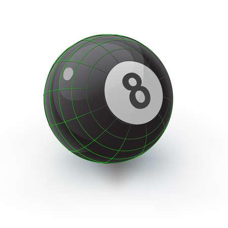 bola ocho: Ocho Ball Techno