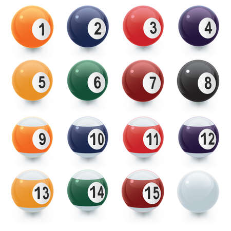 pool ball: Pool Ball Icons