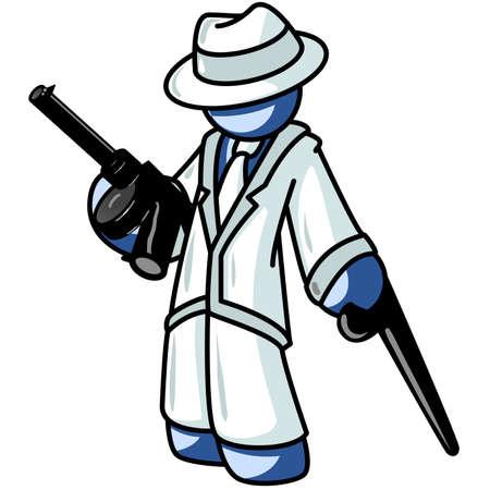 Blue Man Gangster