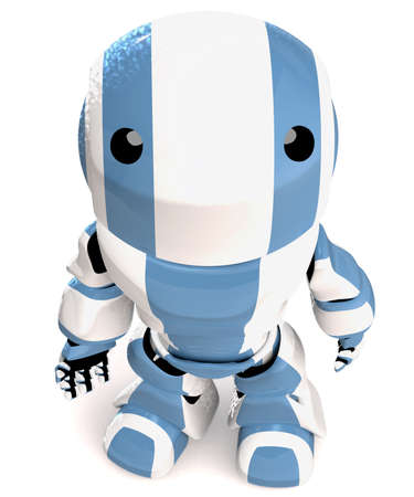awe: Robot Looking UP