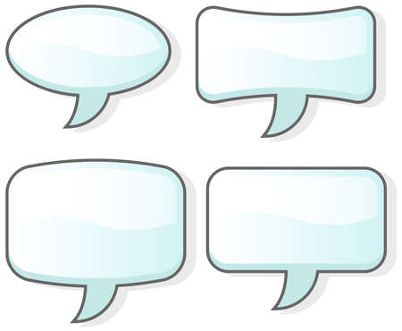 involve: There are four word bubbles here. They are great for having a conversation which does not  involve sound.