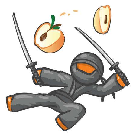 wierd: Orange person VS peach. Peach loses.