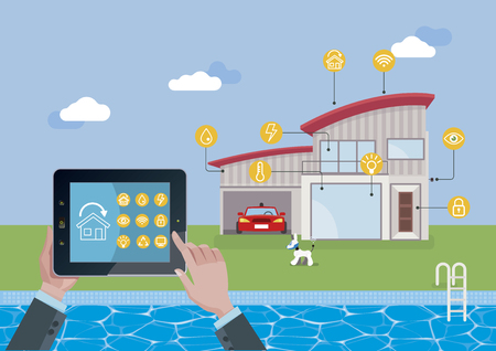 Smart home technology and automation system.