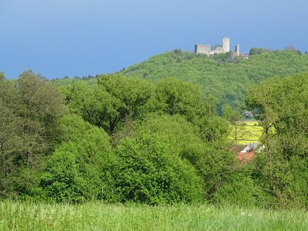 Located in the metropolregion Nuremberg loced you can walk the trail 'Neumarkter Bier-Vielfalt', wich connects some breweries. A stopover point is the castle ruin 'Wolfstein' whose tower is definitely worth a visit.