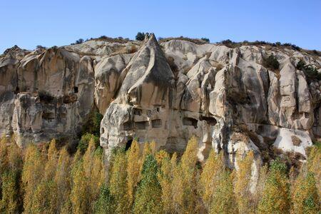 Turkey, tuff stone formation in Cappadocia Stock Photo