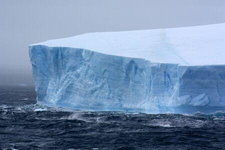 Tabular iceberg in Antarctica, Antarctic Sound, Antarctic Peninsula Reklamní fotografie