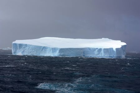 Tabular iceberg in Antarctica, Antarctic Sound, Antarctic Peninsula