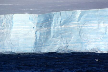 Tabular iceberg in Wilhelmina Bay-Antarctica, Antarctic Peninsula