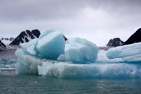 Iceberg in the Nordvest-Spitsbergen National Park