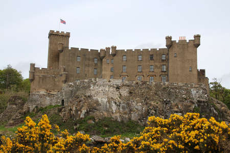 Dunvegan Castle on the Isle of Skye, Scotland