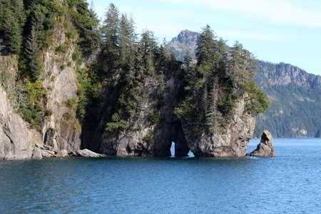 Landscape in Alaska Resurrection Bay Reklamní fotografie