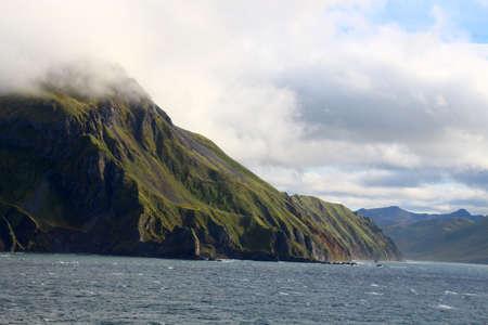 Coast of Unalaska Island, Aleutian Islands, Alaska