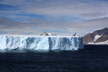 Tabular iceberg in Marguerite Bay, Antarctica