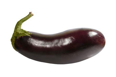 eggplant isolated on white background