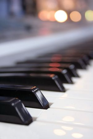 piano buttons photo