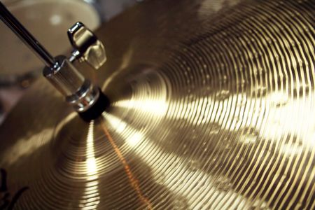 drums: cymbal Stock Photo