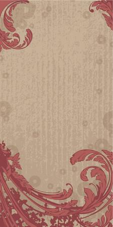 swoop: Vector floral de fondo