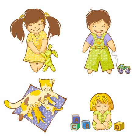 anger kid: Piccolo ragazzo, le ragazze e gattini