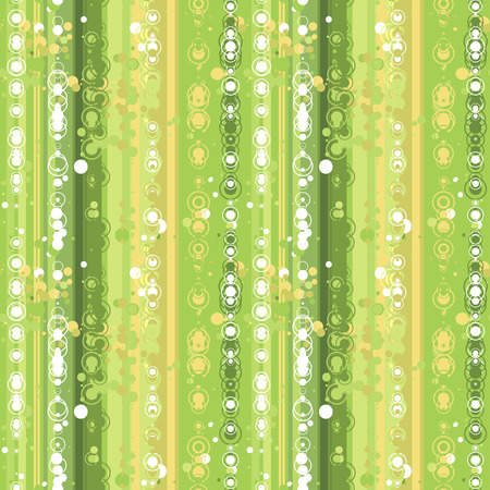 Green dots seamless vector background Vector