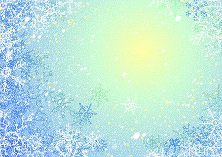 christmass: Fondo de vector azul para el nuevo a�o o la felicitaci�n de Navidad Vectores