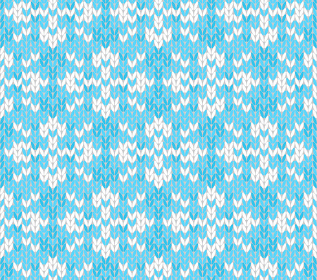 jacquard: Vector seamless background with snowflakes  Imitation jacquard knitting