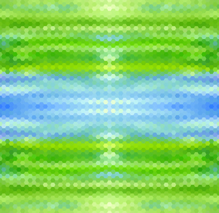 Green-blue abstract geometric vector background Vector