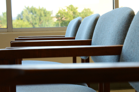 multiples: Row of Chairs Stock Photo