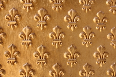 Fleur-de-lis from the entrance to Napoleon s Tomb at Les Invalides