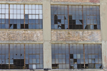 run down: Abandoned Automotive Factory - Worn, Broken and Forgotten I